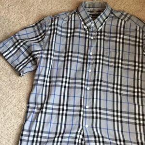 Authentic Burberry short sleeve shirt